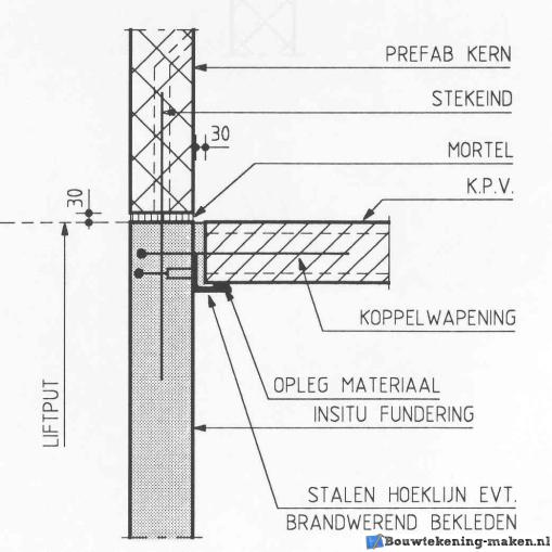Voorbeeld Detailtekening verdieping 2