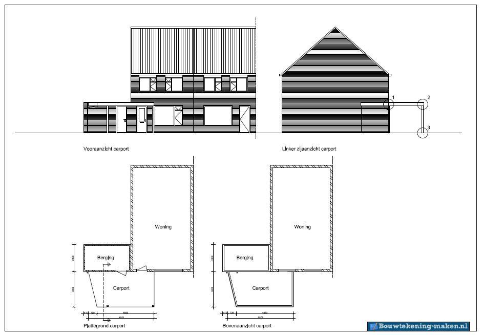 Voorbeeld plattegrond woning5 for Plattegrond van je huis maken